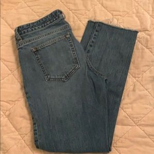 Abercrombie & Fitch Ankle Straight Jean